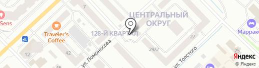 Блинница & Chicken Grill на карте Якутска