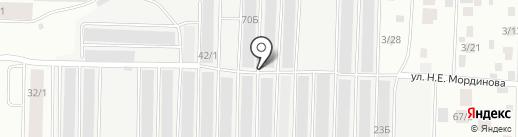 Вираж на карте Якутска