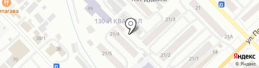 Саха Паркинг на карте Якутска