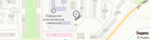 Эмилия на карте Якутска