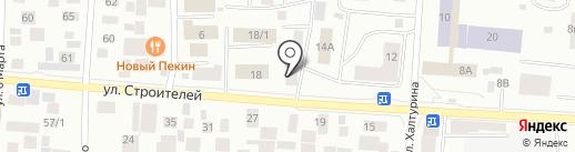 Автобест на карте Якутска