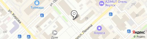 КОФЕВАР на карте Якутска