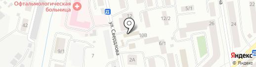 ТВИН на карте Якутска