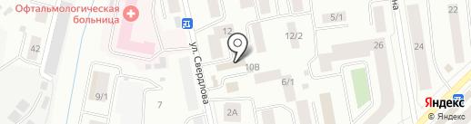 Газсантехсервис на карте Якутска