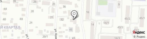 Е-монстро на карте Якутска