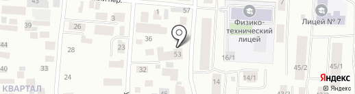 Навигатор на карте Якутска