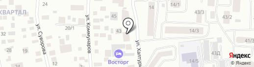 Якутский таможенный пост на карте Якутска