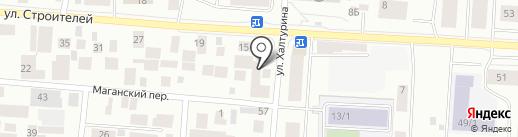 Мобил1 на карте Якутска