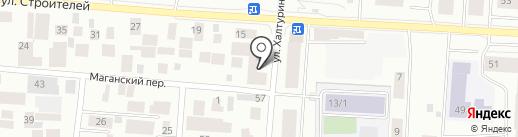 Золотой улов на карте Якутска