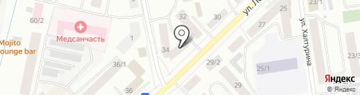 САХА ВОЕНТОРГ на карте Якутска