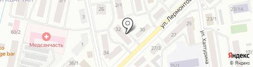 Дальсеверснаб на карте Якутска