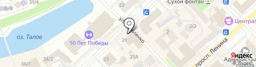 Proff Line на карте Якутска