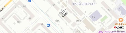Служба обеспечения деятельности Министерства охраны природы Республики Саха (Якутия), ГКУ на карте Якутска