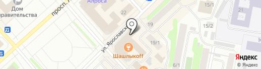 Текстиль. Сумки на карте Якутска