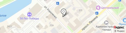 Yakutsk service на карте Якутска