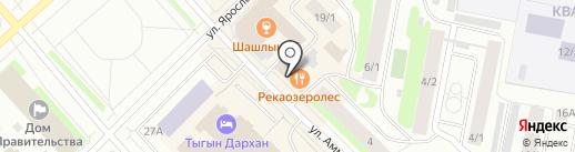 Золотое время на карте Якутска