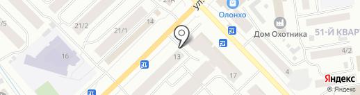 Торговая компания медицинских товаров на карте Якутска