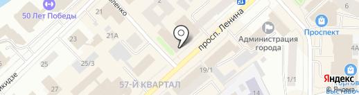 Subway на карте Якутска