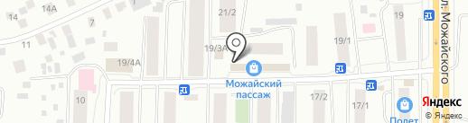 Сластена на карте Якутска