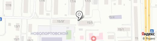 Детская поликлиника на карте Якутска