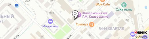 Центр по работе с волонтерами Республики Саха (Якутия) на карте Якутска
