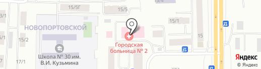 Медицинский кабинет интоксикационной помощи при различных видах отравлений на карте Якутска