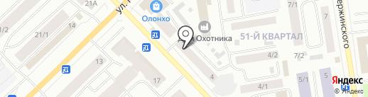 Инстрой на карте Якутска