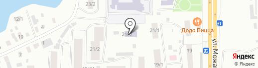 Средняя общеобразовательная школа №38 с углубленным изучением отдельных предметов на карте Якутска