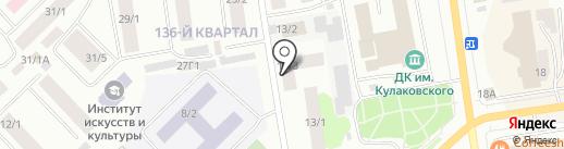 Айти комплект Якутск на карте Якутска