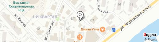 Окружной центр народного творчества, МБУ на карте Якутска