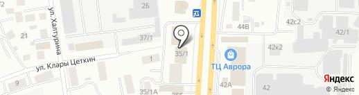Отдел лицензионно-разрешительной работы на карте Якутска