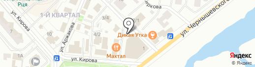 Золотая Империя на карте Якутска
