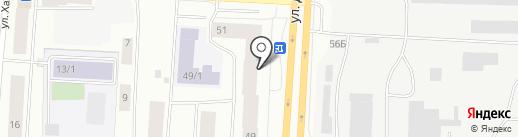 АЗЭТ на карте Якутска
