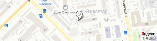 THAISPA на карте Якутска