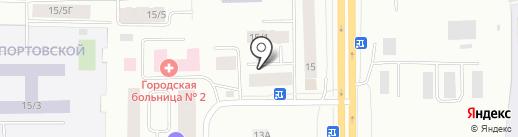 Торгово-сервисная компания на карте Якутска