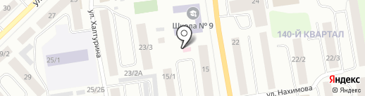 Косметический кабинет на карте Якутска