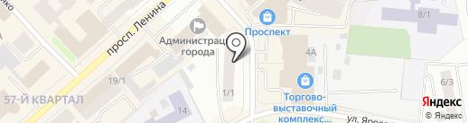 Фонд поддержки развития агропромышленного комплекса городского округа город Якутск на карте Якутска