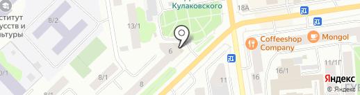 LADY MARRY на карте Якутска