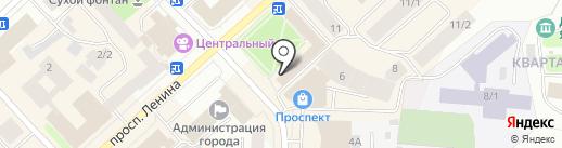 Арника на карте Якутска