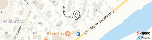 Курьер-Сервис Якутск на карте Якутска