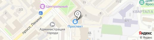 Smarty на карте Якутска