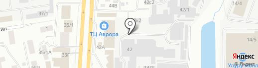 Якутский гормолзавод на карте Якутска