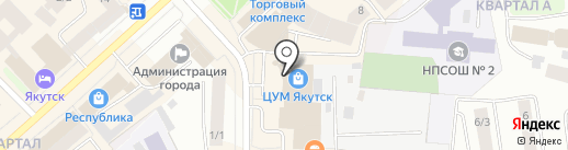 Free-style на карте Якутска