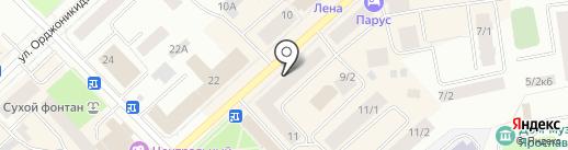 Билайн на карте Якутска