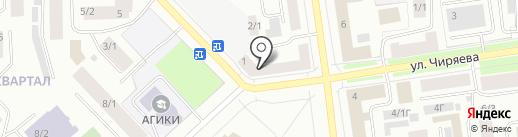 Магазин пультов для телевизора на карте Якутска