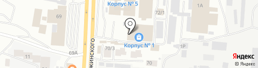 Поздеева М.А. на карте Якутска