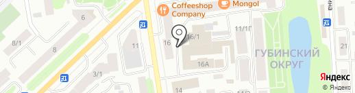 Beder на карте Якутска