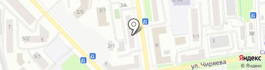 Аванс на карте Якутска