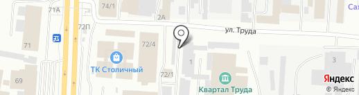 Энергиум на карте Якутска