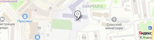 Скалодром на карте Якутска